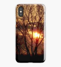 End of a Golden day. iPhone Case