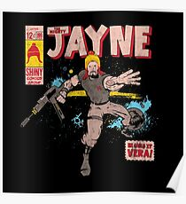 The Mighty Jayne Poster