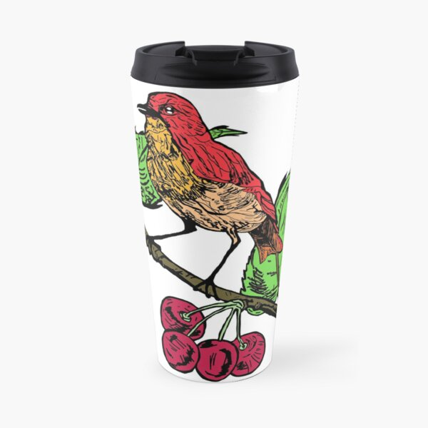 Pride Bird Classic T-Shirt Travel Mug