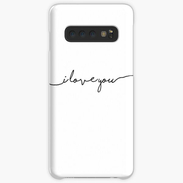 i love you Samsung Galaxy Snap Case