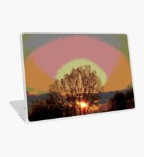 End of a Golden day. Laptop Skin