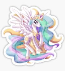 Princess Celestia Sticker Sticker