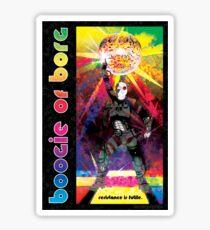 Boogie Borg Sticker