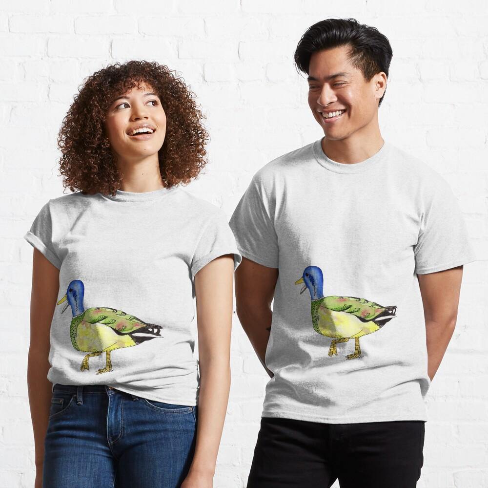 Determined Mottled Mallard Classic T-Shirt