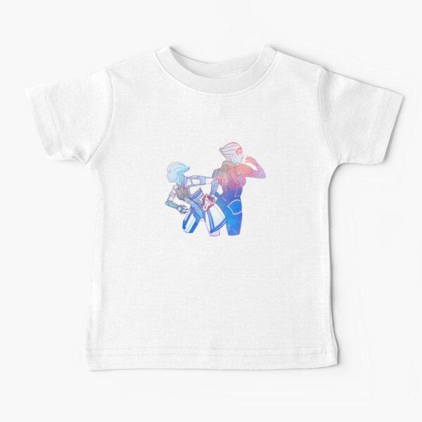 Liara and Samara Mass effect Baby T-Shirt