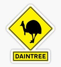 DAINTREE RAINFOREST - CASSOWARY Sticker