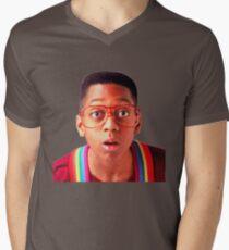 Steve Urkel V-Neck T-Shirt