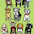 Cutout DOGS by DAdeSimone