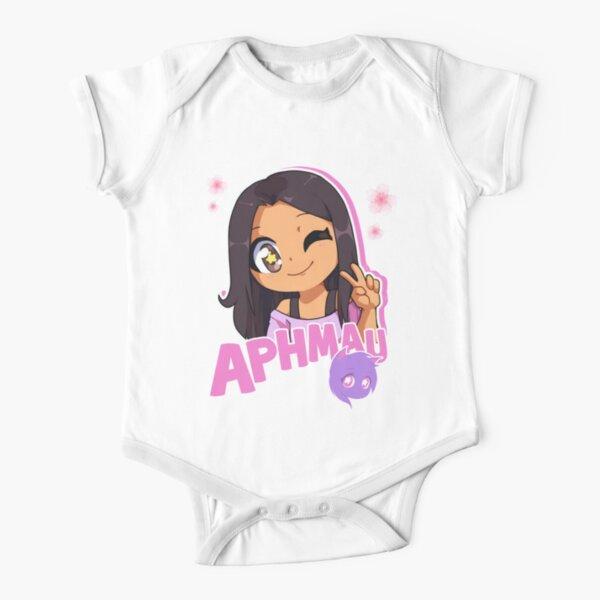 Aphmau Aaron Lycan Aphmau Lycan Short Sleeve Baby One-Piece