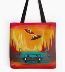 Night Visit Tote Bag