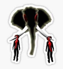 the poacher & the buyer Sticker