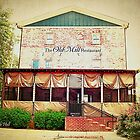 """""""The Old Mill Restaurant""""... prints and products by © Bob Hall"""