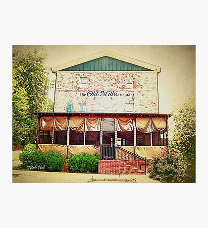 """""""The Old Mill Restaurant""""... prints and products Photographic Print"""