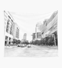 Congress Avenue in Austin Texas Tapestry