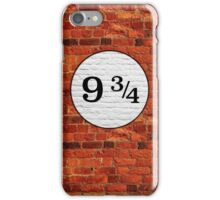 Platform 9 3/4 iPhone Case/Skin