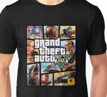 Hot Video Game of Grand Theft Auto V Unisex T-Shirt
