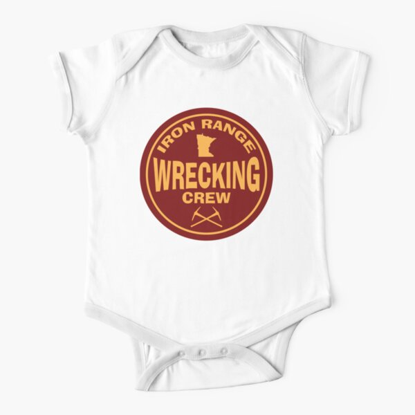 Iron Range Wrecking Crew Short Sleeve Baby One-Piece