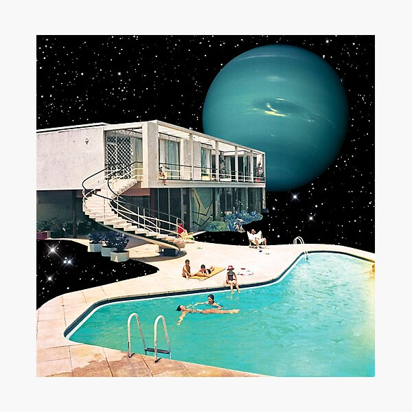 Space Home Photographic Print