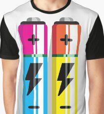 Battery Icon web pictogram flat design Graphic T-Shirt