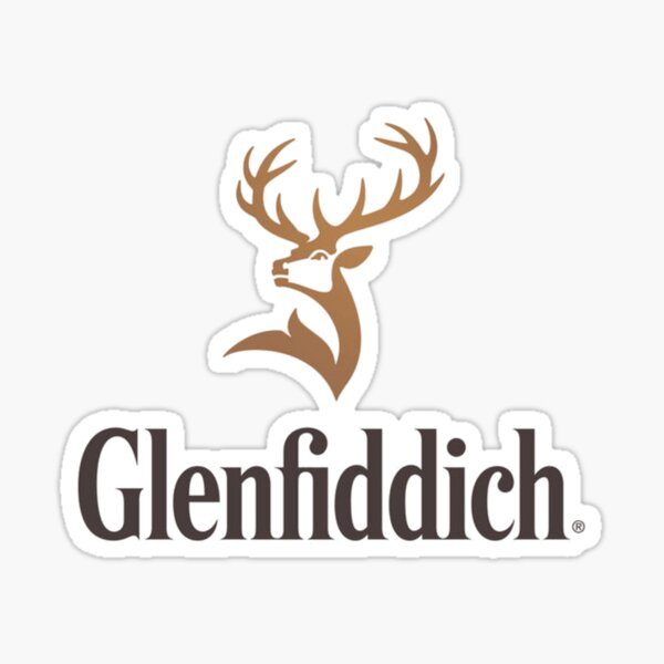 Whisky Glenfiddich Sticker