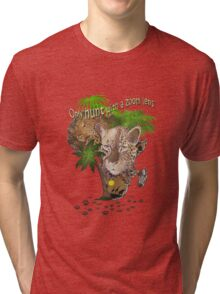 Only Hunt with a Zoom lens Tri-blend T-Shirt