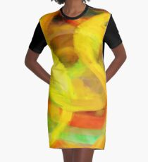 Moving smoothly Graphic T-Shirt Dress