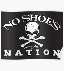 No Shoes Tour Logo Poster