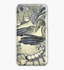 Raven, libra and a scorpio. iPhone Case/Skin
