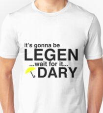 Camiseta ajustada CÓMO ME ENCONTRÉ CON TU MADRE BARNEY T SHIRT