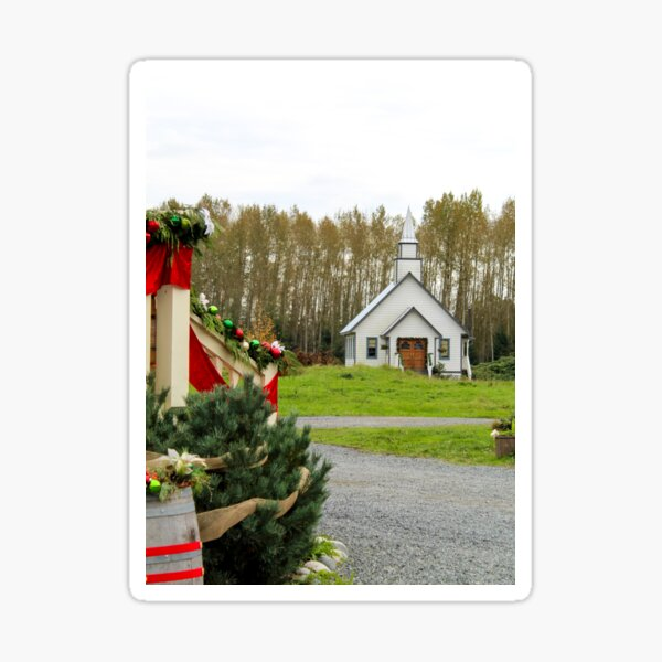Christmas in Hope Valley Sticker