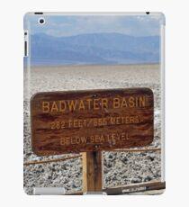 Bad Water Death Valley iPad Case/Skin