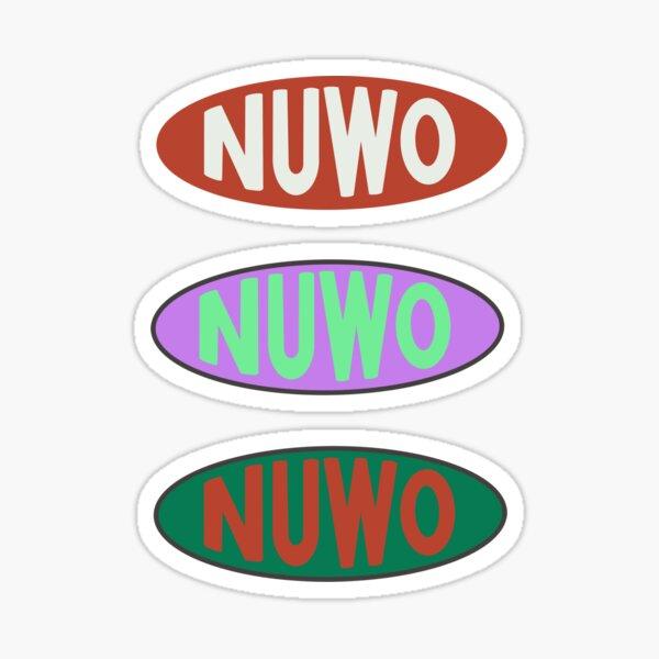 NUWO logo Brent Faiyaz Glossy Sticker