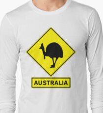 AUSTRALIA - CASSOWARY Long Sleeve T-Shirt