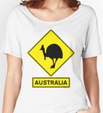 AUSTRALIA - CASSOWARY Women's Relaxed Fit T-Shirt