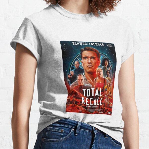 Total Recall 30th Anniversary Movie film Terminator Halloween Christmas Classic T-Shirt