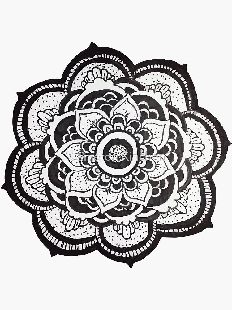 Mandala by cammonk
