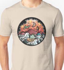 Oldschool storm landscape T-Shirt