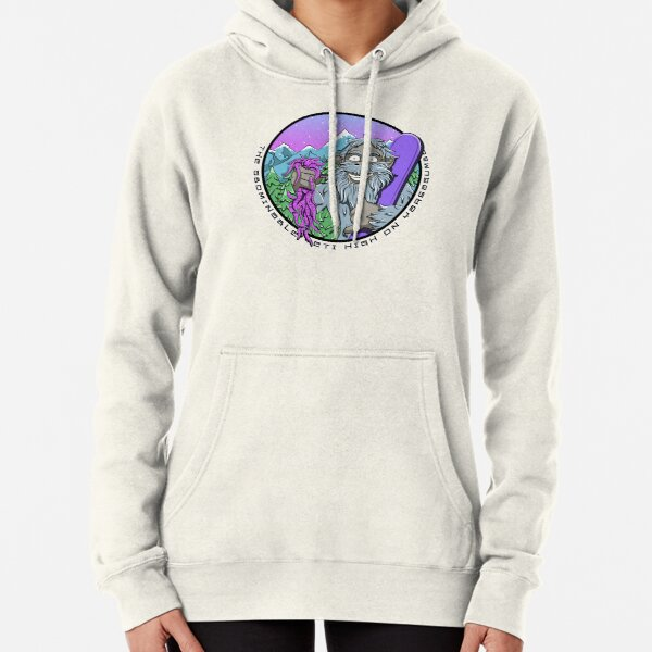 Abominable Snowman Yeti Pullover Hoodie