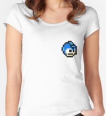 Man, that's Mega Women's Fitted Scoop T-Shirt