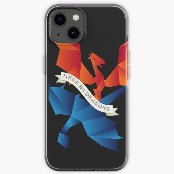 Style SCP1762 Here Be Dragons, Where the Dragons Went Phone Case, Notebook iPhone Soft Case