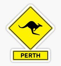 Perth, Western Australia - Kangaroos Gone Wild Sticker