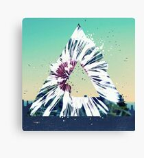 Dandelion Flower T-Shirt Summer Vibe Illusions Most Popular Canvas Print
