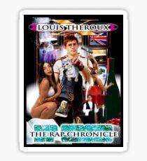LOUIS THEROUX GANGSTA RAP ALBUM COVER WEIRD WEEKENDS Sticker