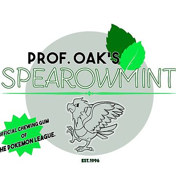 Spearowmint Gum by RileyRiot
