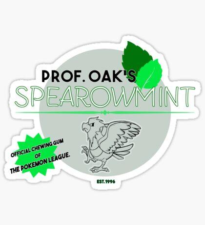 Spearowmint Gum Sticker