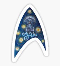 Star Trek Van Gogh  Sticker