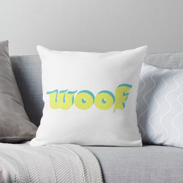 Woof! Throw Pillow