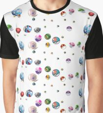Pokeballs Graphic T-Shirt