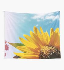 Summer Sunflower Wall Tapestry