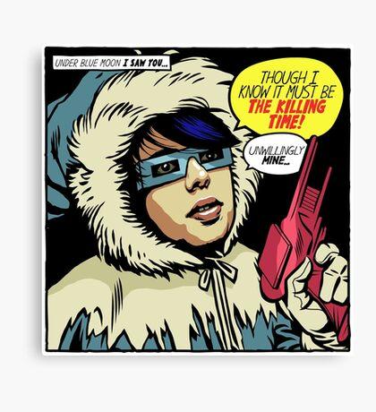 Post-Punk Ice Canvas Print